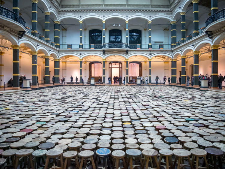 Tentoonstelling; Ai Weiwei – Evidence