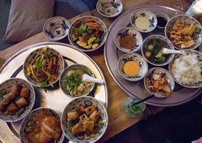 Het menu van het huis bij Umami