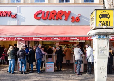 Curry 36 Currywurst in Kreuzberg