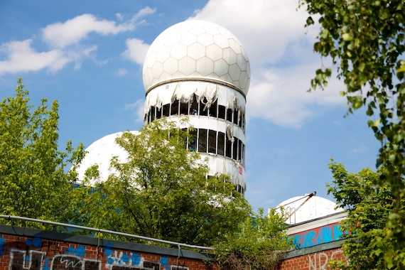Teufelsberg; de radarstations binnensneaken