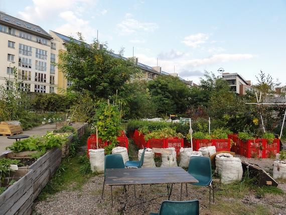 Prinzessinnengärten; Urban gardening op z'n best!