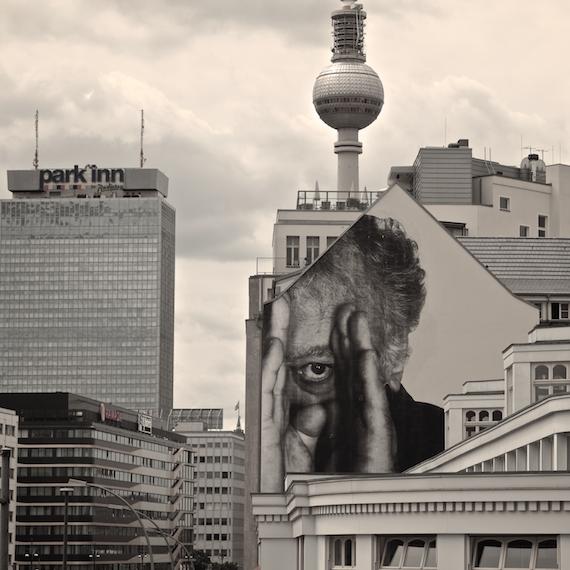 The Wrinkles of the City; Ouderen geportretteerd met street art