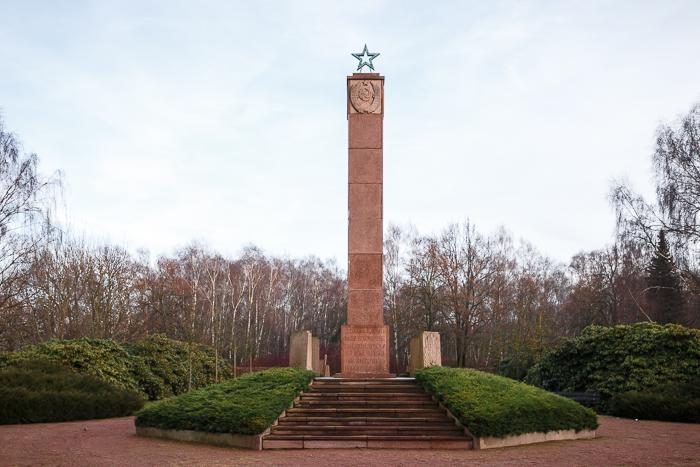 Parkfriedhof Marzahn; gedenkplaats voor oorlogsslachtoffers