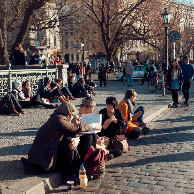 Fotoserie; wandeling door Kreuzberg 61 met 100% Berlijn