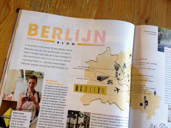 """""""Berlijn bruist""""; BerlijnBlog in de Libelle!"""