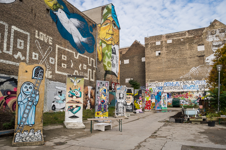 Neu West Berlin; creativiteit in een Plattenbau