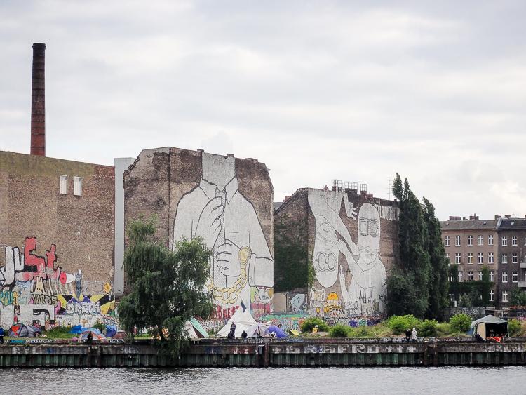 Dag graffiti aan de Cuvry…