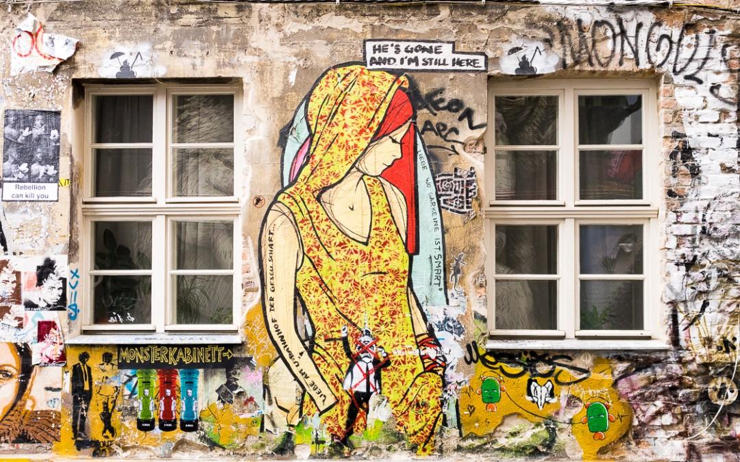El Bocho's street art in Berlijn