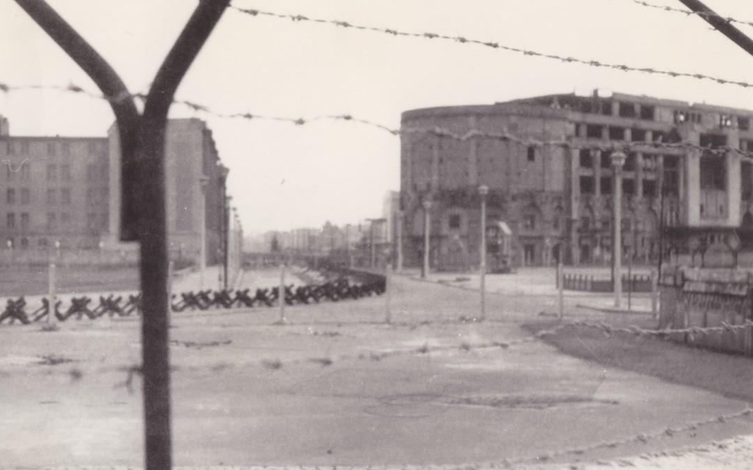 Een herinnering aan Checkpoint Charlie