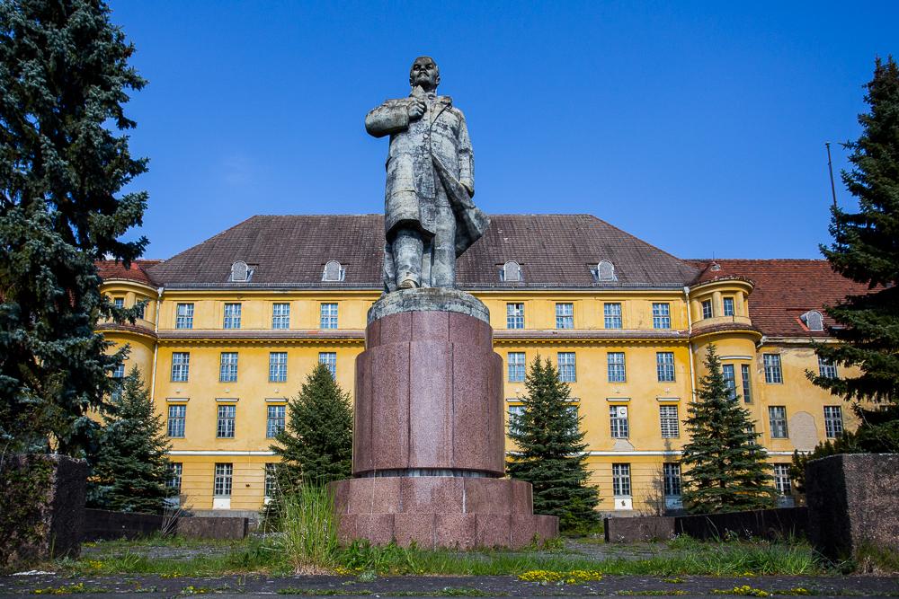 De leegstaande militaire spookstad Wünsdorf