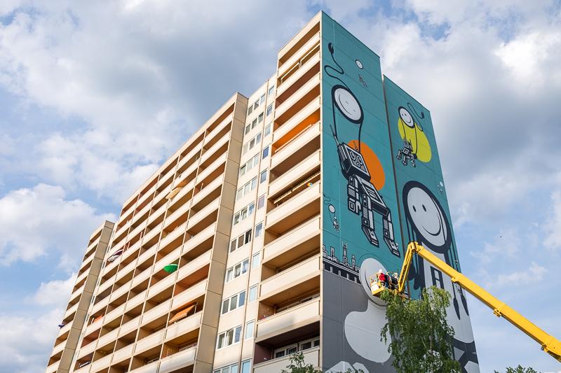 3 nieuwe murals in Reinickendorf