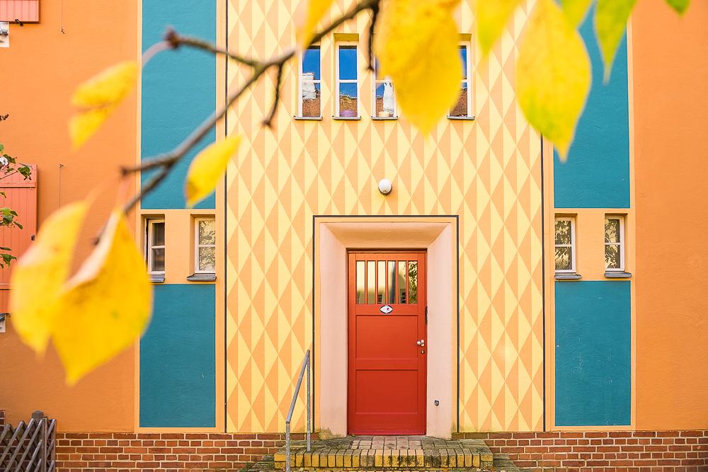 Wohnsiedlung Gartenstadt Falkenberg: een kleurrijk meesterwijk